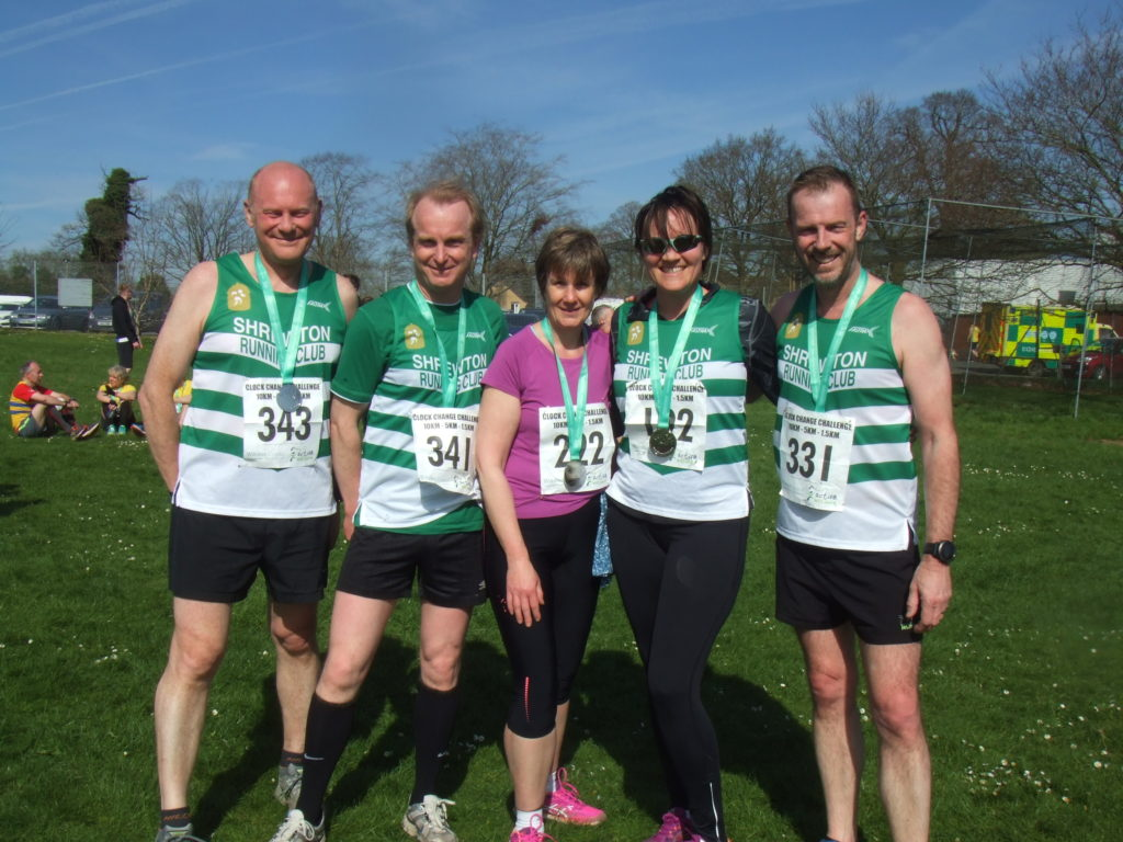 The Shrewton runners