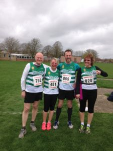 Runners at Highworth