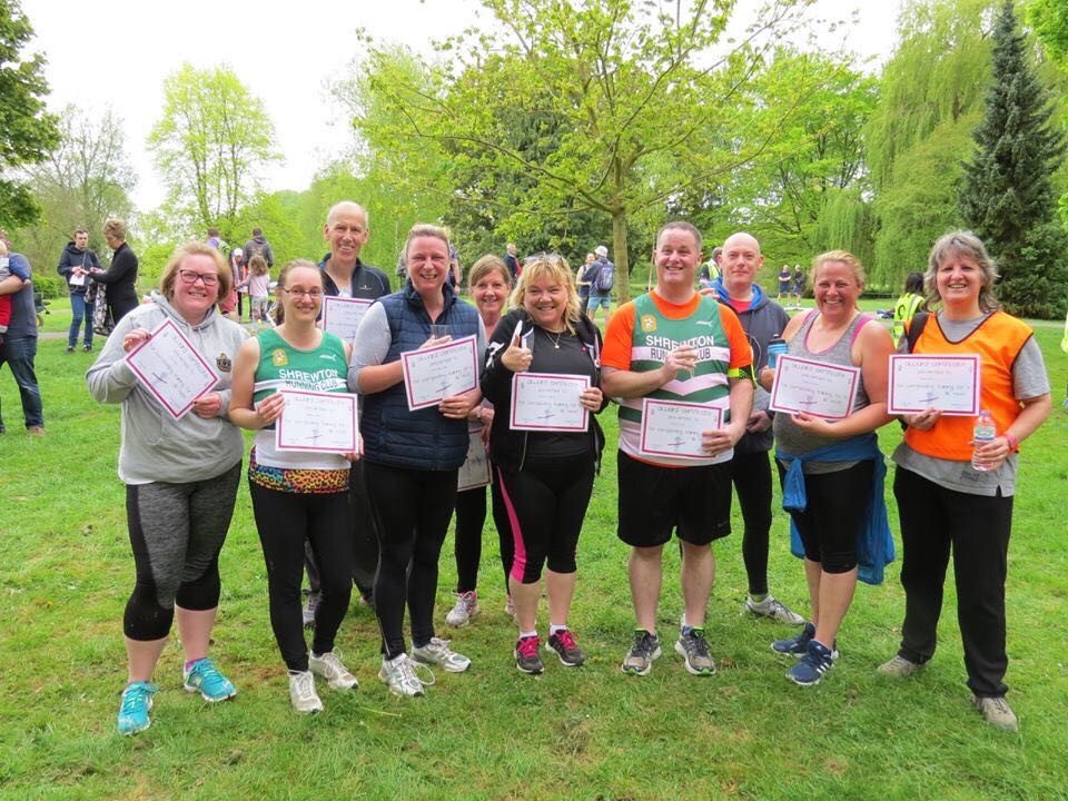 Couch to 5k graduates spring 2017