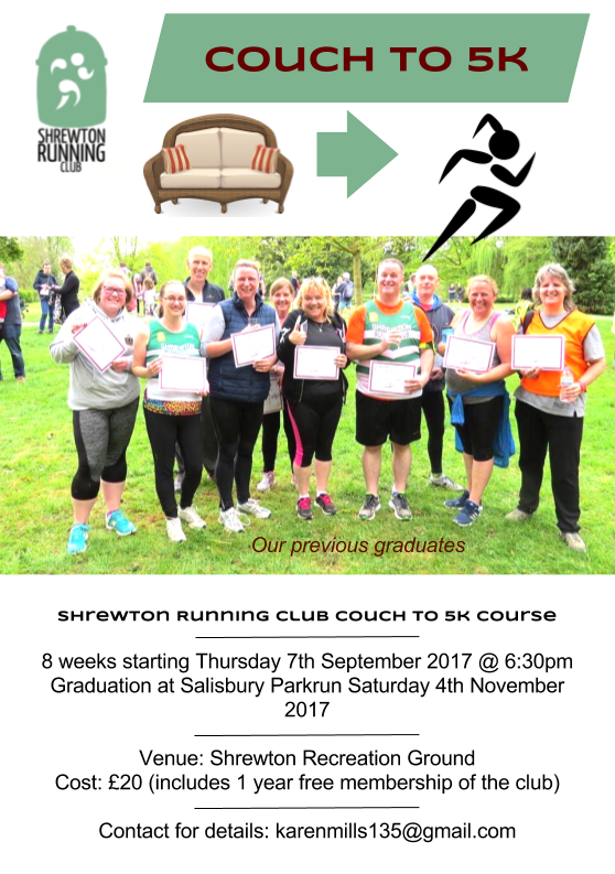 Couch to 5k flyer