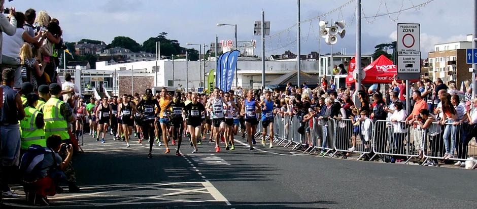 torbay half marathon runners