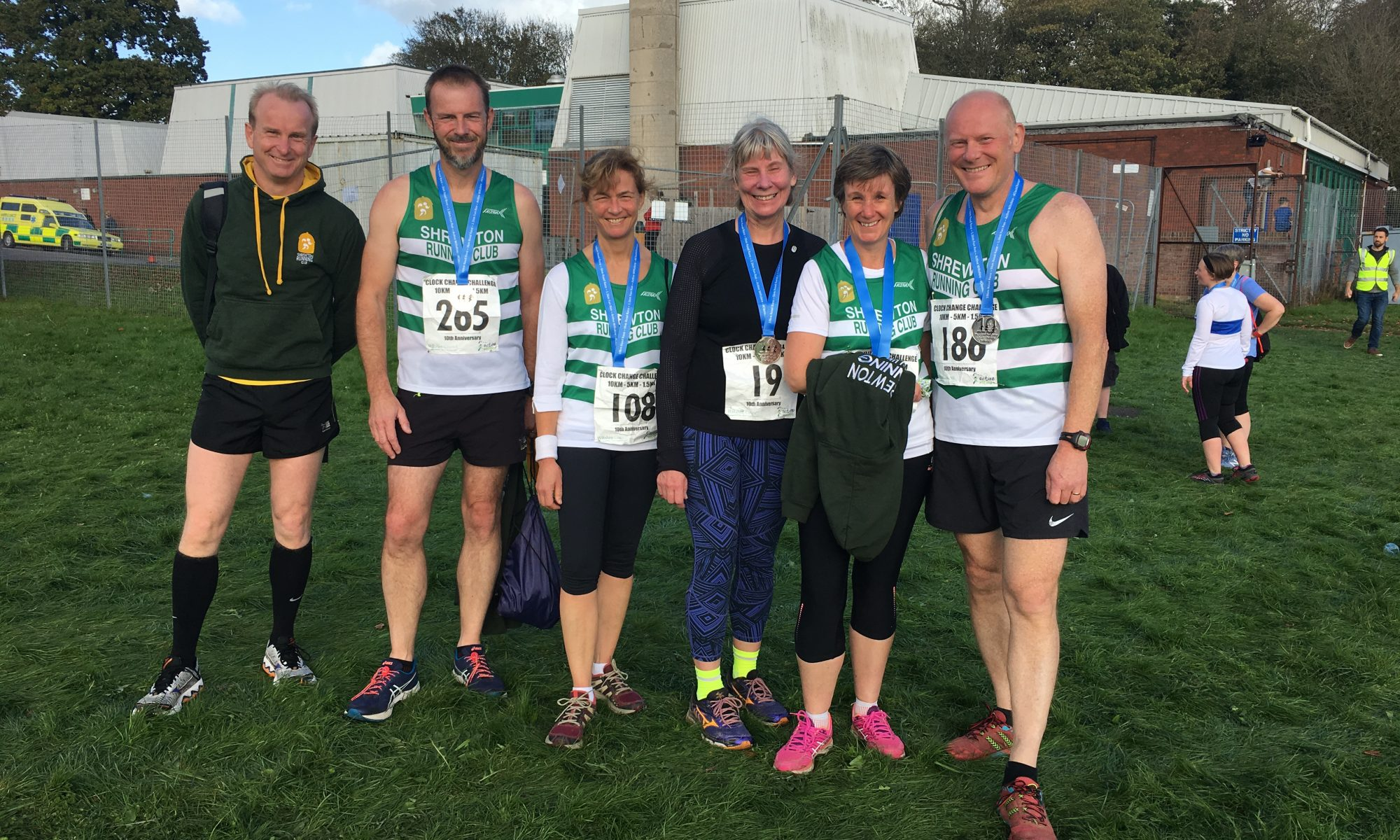 Shrewton runners