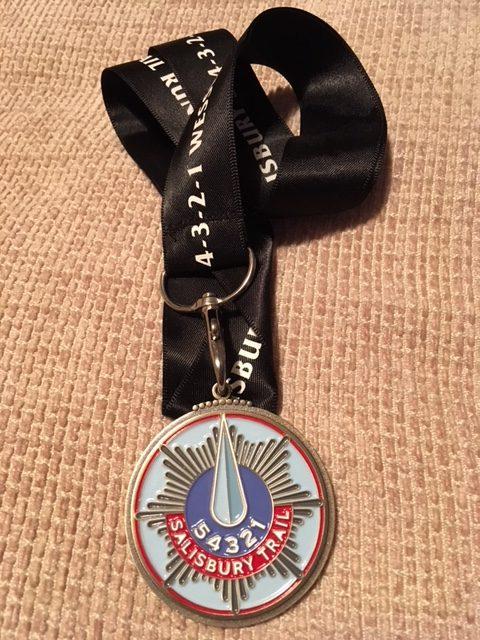 Carl's Ultra Medal