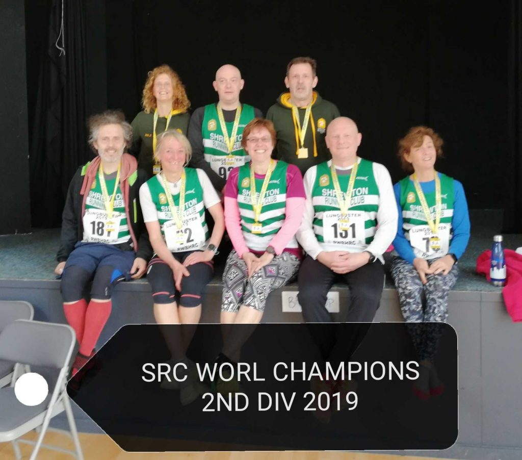 Shrewton running club members