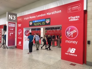 Virgin Money London Marathon Expo.