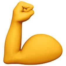 Flexed Biceps Emoji (U+1F4AA)